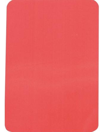 Carte disciplinaire rouge...